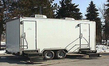 Mobile Restroom Trailer